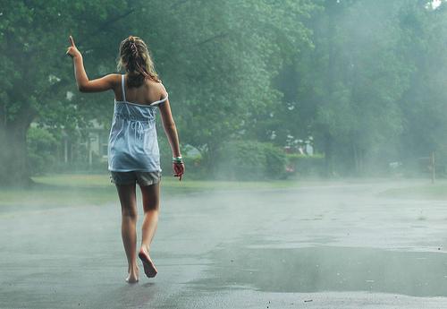 Image result for daytime summer rain